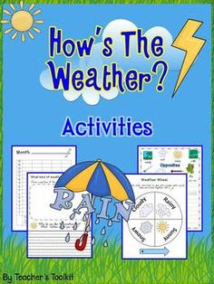 Hows The Weather? Activities