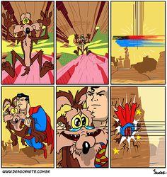 Artist Creates Comics About Superheroes And Other Famous Characters Off-Duty New Pics) Bd Comics, Marvel Dc Comics, Marvel Heroes, Funny Cartoons, Funny Comics, Comic Pictures, Funny Pictures, Humor Batman, Superhero Memes