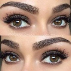 Perfect eyebrows You are in the right place about simple Makeup Here we offer you the most beautiful pictures about the glowy Makeup you are looking for. When you examine the Perfect eyebrows part of the pic # Gel Eyeliner, Eyebrow Makeup, Skin Makeup, Eye Brows, Revlon Eyeshadow, Eyebrow Shading, Eyebrow Game, Simple Eyeshadow, Makeup Looks