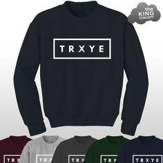 TRXYE Jumper Sweater Music Sweatshirt Tumblr by TheKingConcept