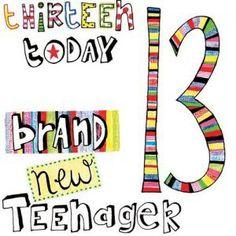 13th Birthday Cards A