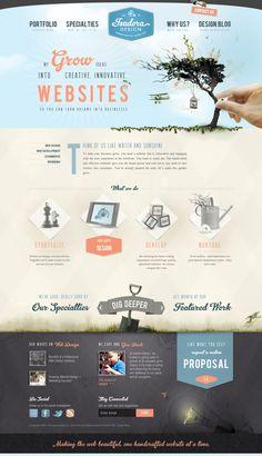 Isadora Design   #webdesign #it #web #design #layout #userinterface #website #webdesign < repinned by www.BlickeDeeler.de   Take a look at www.WebsiteDesign-Hamburg.de