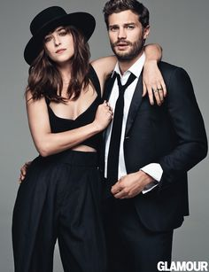 Jamie & Dakota Photoshoot per Glamour | 50 Sfumature Italia