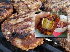 Minnesota Vikings Purple Reign Burgers! Try them at your next tailgating party. SKOL VIKINGS! Tailgate Drinks, Tailgating Recipes, Crown Royal Whiskey, Burger Perfect, Vikings Game, Purple Reign, Minnesota Vikings, Burgers, Beef Recipes