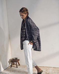 Karmen Pedaru Models Isabel Marant Etoiles Spring 2014 Collection