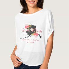 Team Bride Alaska State Wedding Party Bridesmaid T-Shirt