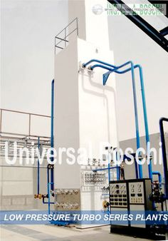 Generation of gas with oxygen gas plant live