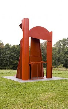 Find the latest shows, biography, and artworks for sale by Anthony Caro. Considered one of the most influential practitioners of modern sculpture, Anthony Ca… Steel Sculpture, Modern Sculpture, Abstract Sculpture, Sculpture Art, Sculpture Garden, Anthony Caro, Painted Slate, Digital Art Gallery, A Level Art