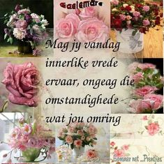 Good Morning Rainy Day, Good Morning Quotes, Goeie More, Afrikaans Quotes, Special Quotes, Lilac, Qoutes, Floral Wreath, Flowers