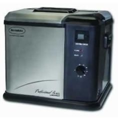 Butterball Turkey Fryer.  Didn't know I needed one until I saw the infomercial.