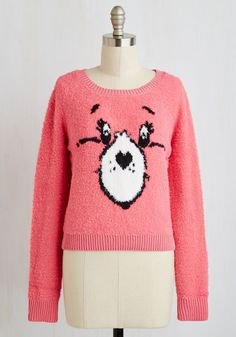 Grin and Care It Sweater, #ModCloth