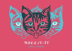 Mollycat Dublin - Helsinki  Mollycat Dublin - Helsinki Gallery quality print on thick 45cm / 32cm metal plate. Each Displate print verified by the Production Master. Signature and hologram added to the back of each plate for added authenticity & collectors value. Magnetic mounting system included.  EUR 41.00  Meer informatie