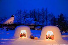 Visit Majestic Igloos at Yokote Kamakura Festival in Akita – Japan Info Snow In Japan, Winter In Japan, Japan Info, All About Japan, Japan Landscape, Sendai, Kamakura, Visit Japan, Japanese Culture