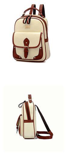 Elegant feminine all season women backpack in ivory color. Stunning, isn't it? $8.99