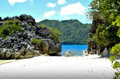 Caramoan-island, Philippines -  is a paradise hidden in an underdeveloped and rural soil, where white sand beaches, limestone cliffs, islands and islets are common scenery