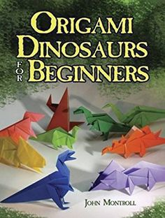 Office & School Supplies Creative 3d Dinosaur Origami Book Children Diy Puzzle Game Thinking Training Origami Step Book Skilful Manufacture