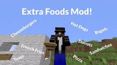 New post (Extra Food Mod 1.8) has been published on Extra Food Mod 1.8  -  Minecraft Resource Packs