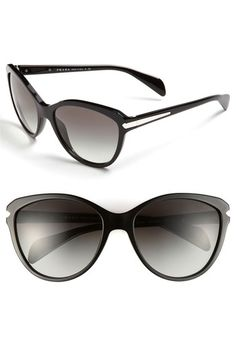 Prada 59mm Cats Eye Sunglasses available at Nordstrom