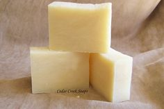 Super Silky Shea Soap Cold Processed Soap by CedarCreekSoaps1, $5.00