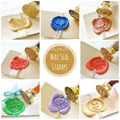 Wax Seal Stamps - get your home state!