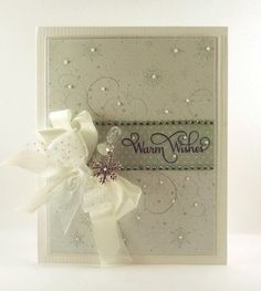 JustRite Snowfall Background Cling Stamp