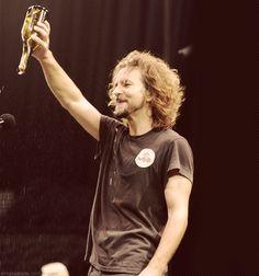 Eddie Vedder...wine is gone :(