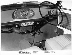 "Austin Mini Cooper ""S"" MK II interior"