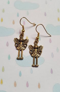 Fairy earrings, Fairy, Fairies, Dangle earrings, Magic, Magical, Fantasy jewellery, Fantasy, Gifts for girls, Gift idea