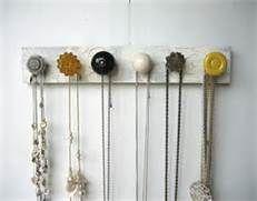 Make A Hanging Jewelry Organizer - Bing Images