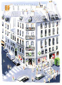 Rue du Four, Paris // Dominique Corbasson
