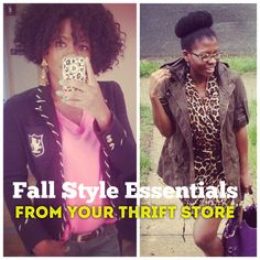 Fall Fashion Essentials You Can Find at Any (yes, any!) Thrift Store