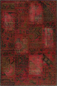 Momeni Vintage Raspberry VIN-3 area rug