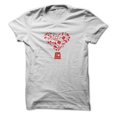 Valentine T Shirt number nine a by Trinity: I Love Shopping