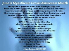 Best description of MG I've seen in a long time. June is Myasthenia Gravis Awareness Month! I Love You Son, Prayer For Health, Graves Disease, Psoriatic Arthritis, Homeopathic Medicine, Headache Relief, Hypothyroidism, Before Us, Autoimmune Disease