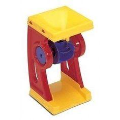 Erilaisia hiekkaleluja voi käyttää myös vedessä. Vesimylly on hauska lelu, joissa lapsi pääsee ihmettelemään veden valumista.  Plasto Sand & Water Wheel Kids Educational Toy Gift Teacher Learning Aid Game