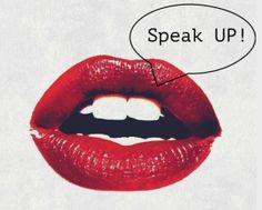 Speak Up! the Blocks in our Throat Chakra.