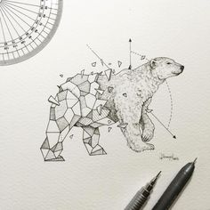 http://theultralinx.com/2016/02/awesome-intricate-drawings-fuse-animals-and-geometric-shapes/
