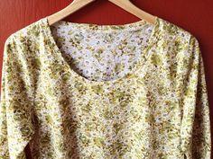 New @grainlinestudio Lark Tee because I love granny floral! Fabric from Mill End in Portland. #larktee #grainlinestudio by christinehaynes