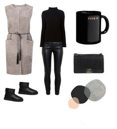 """""""Untitled #55"""" by chertik-alena on Polyvore featuring UGG Australia, Balenciaga, Helmut Lang and Chanel"""