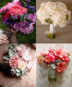 Gorgeously Unique Wedding Bouquets. To see more: http://www.modwedding.com/2014/05/29/gorgeously-unique-wedding-bouquets/ Floral Design: Oak & the Owl;