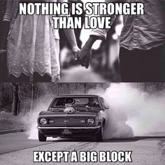 Nothing is Stronger than Love Except a Big Block Meme