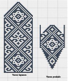 Crochet Mittens Free Pattern, Knit Mittens, Knitted Gloves, Knitting Socks, Hand Knitting, Cross Stitch Bookmarks, Cross Stitch Borders, Cross Stitch Patterns, Knitting Charts