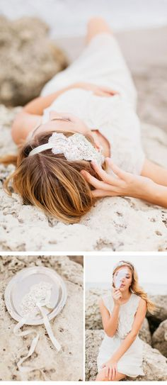 BEACH WEDDING; photo: Memories by Ellie Photography