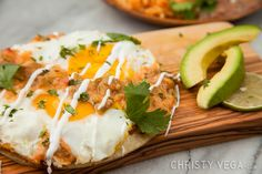PrintHuevos Rancheros Prep Time: 5 minutesCook Time: 10 minutes Yield: 1 Ingredients2 teaspoons unsalted butter 1 corn tortilla 2 eggs, sunny side up 1/2 cup Salsa Ranchera (see recipe below) 1/4 cup guacamole 1/4 cup sour cream for garnish 1/2 cup Spanish rice 1/2 cup refried beans Salsa Ranchera 1/2 Anaheim Chile, chopped 2 tablespoons … Beans And Sausage, How To Cook Sausage, Traditional Mexican Food, Bean Salsa, Huevos Rancheros, Pickled Red Onions, Mexican Food Recipes, Ethnic Recipes, Spanish Rice
