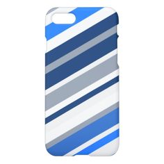 Blue/White/Gray Lines/Stripes Pattern