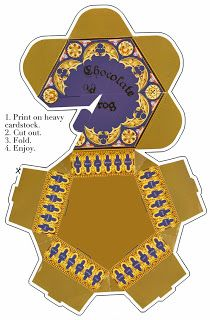 Quirky Artist Loft: Printable: Harry Potter, Chocolate Frog Gift Box