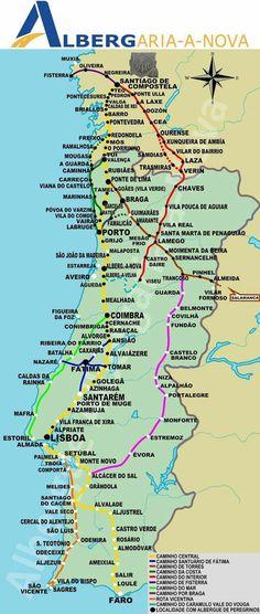 Portugal Travel, Spain Travel, Camino Way, Camino Portuguese, Trekking, Croatia Travel, Pilgrimage, Lisbon, Places To Visit
