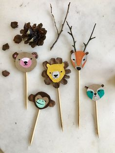 Diy For Kids, Crafts For Kids, Arts And Crafts, Diy Crafts, Infant Activities, Activities For Kids, Animal Cupcakes, Easy Animals, Cool Art Projects