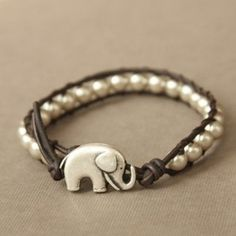 Lucky elephant bracelet, must have!
