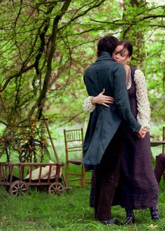 Ben Whishaw (John Keats) & Abbie Cornish (Fanny Brawne) - Bright Star directed by Jane Campion (2009) #johnkeats #janecampion #fannybrawne